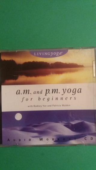 cd am and pm yoga for beginners  free shipping