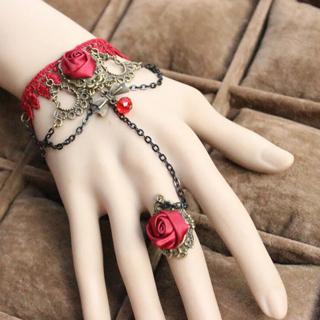2017 Newest Fashion Jewelry Rose Gold Flower Charm Bracelets & Bangles Woman Bracelet