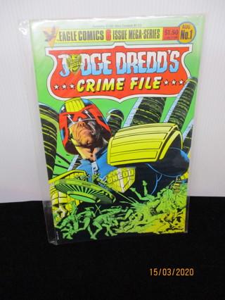 JUDGE DREDD'S CRIME FILE #1