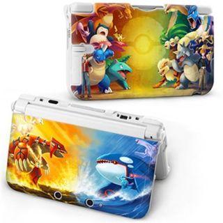 New Cartoon POKEMON Protective Hard Case Cover For Nintendo 3DS XL