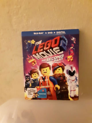 Brand New The Lego Movie 2 the second part Blu-Ray + DVD + Digital