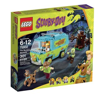 New LEGO Scooby-Doo 75902 the Mystery Machine Building Kit