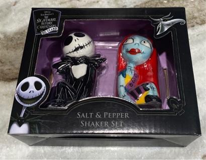 Disney's The Nightmare Before Christmas Salt & Pepper Shakers *BRAND NEW*