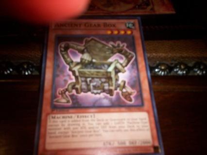 new yu-gi-oh ancient gear box card