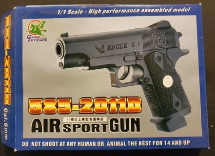 Brand New in box Air Sport Gun Great Birthday Fathers Day Hunting Gift