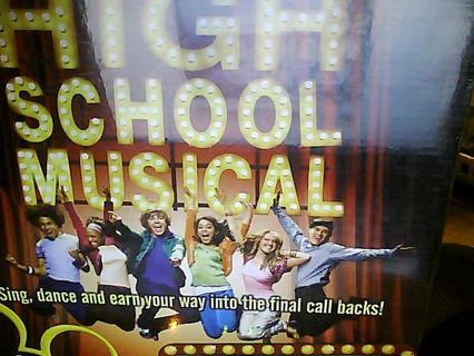 hish school musical dvd game