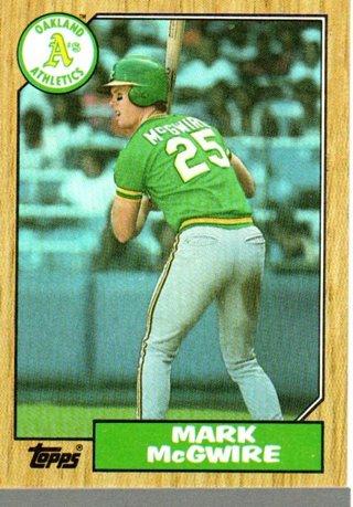 1987 Topps Mark Mcgwire #366