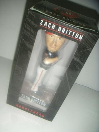 Baltimore Orioles SGA Bobble Head Zach Britton Bobblehead NIB