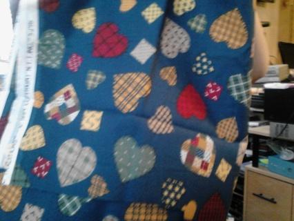 heart fabric/cotton