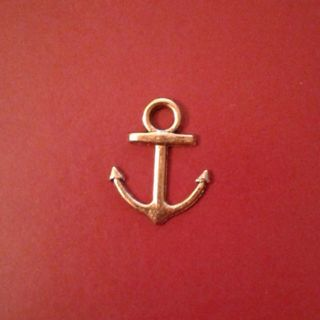 Gold Plated Anchor Charm