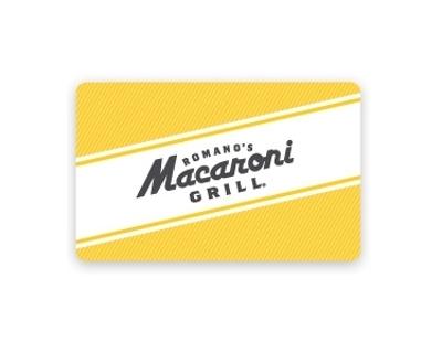 PDF+PIN 125$ (5x25$) Macaroni Grill Gift Cards