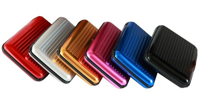 1 BRAND NEW Aluminum Wallet Winner Picks Color! Womens Mens Girls Boys GIN FAST SHIPPING