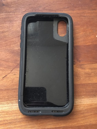 AUTHENTIC $69.95 OTTERBOX PURSUIT SERIES CASE FOR iPHONE X/Xs in solid Black! FREE SHIPPING!