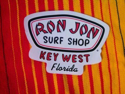 Ron Jon Surf Shop Sticker/Decal Key West Florida