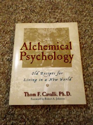 Alchemical Psychology Book