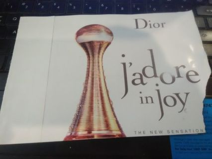 J'Adore in Joy by Dior - Fragrance Sample