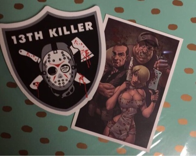 2 Awesome decal vinyl stickers (Free Shipping!)