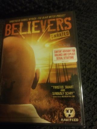 BELIEVERS DVD FACTORY SEALED