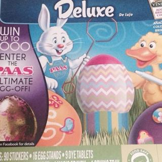 Easter egg dying kit