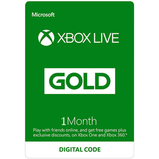 1 Month Xbox Live Gold Membership (digital code - fast delivery)