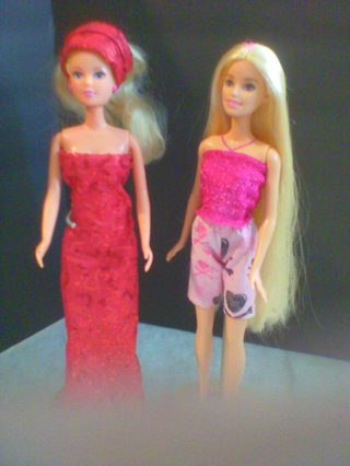 Two Barbie Outfits