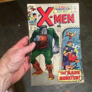 Silver Age Comic X-Men #40 > FREE SHIPPING!