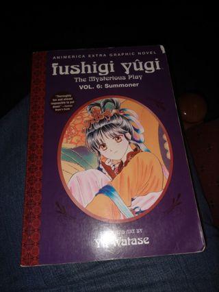 Fushigi Yugi Volume 6 (manga, paperback)
