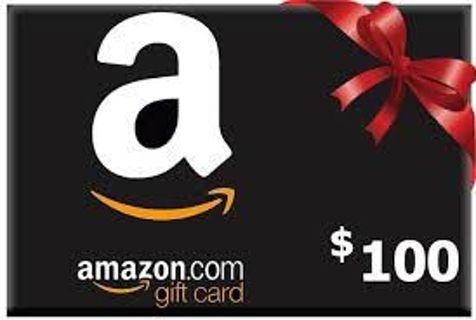 Amazon giftcard $100