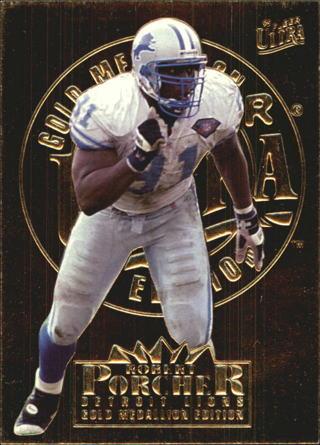 1995 Fleer Ultra Gold Medallion #106 Robert Porcher