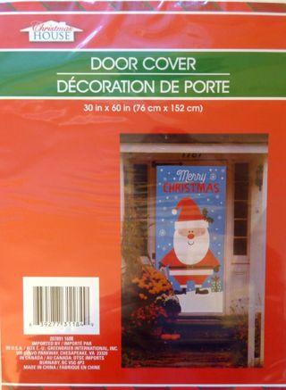 *NIP* Door Cover - Santa