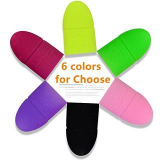 5pcs/set UV Gel Polish Remover Wraps Soak Off Cap Clip Nail Art Manicure Tools