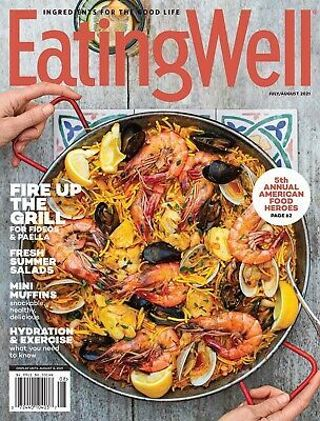 Eating well magazine.july/august=over 20+recipes