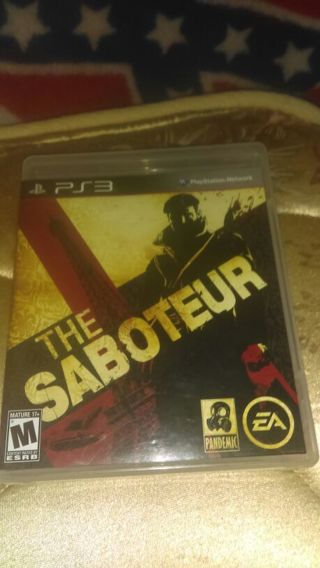 PS3 game the saboteur