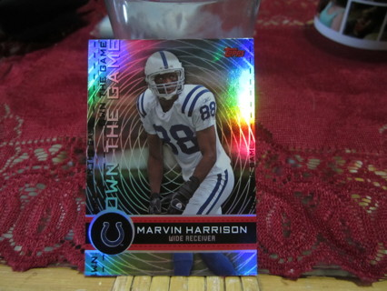 """***2007 TOPPS """" OWN THE GAME """" MARVIN HARRISON***INDIANAPOLIS COLTS***"""