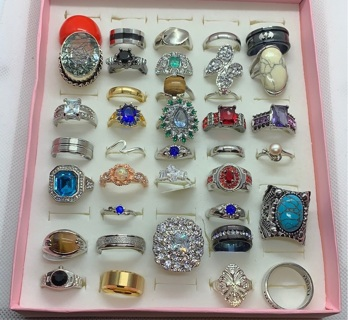 35 Piece Ring Lot