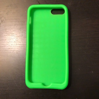 Green studded silicon iPhone 5s Case