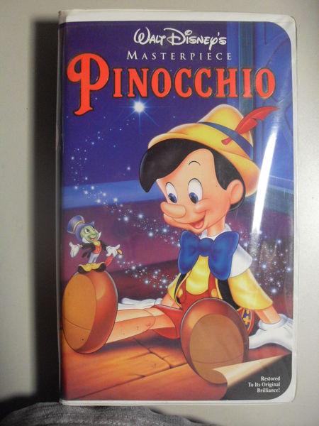 Free: Pinocchio (VHS, 1993) - VHS - Listia.com Auctions ...