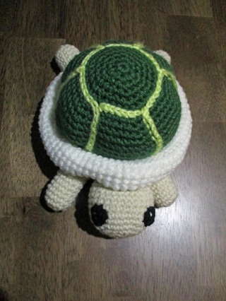 Stuffed Crocheted Turtle. New. Crocheted by Me