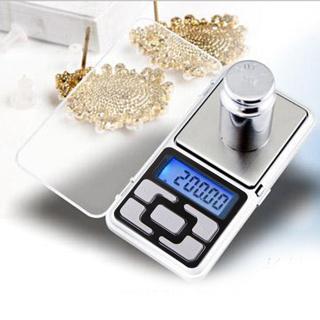 1 NEW 500g/0.1g Digital Electronic Pocket Diamond Jewelry Gold Balance Scale + FREE BATTERIES!