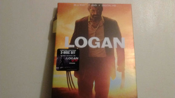 NEW LOGAN BLU - RAY NOIR + DVD + DIGITAL HD  *Limited Edtion*