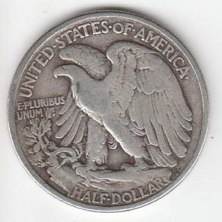 1938 Walking Liberty Half Dollar