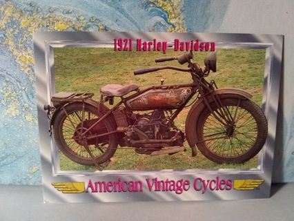 American Vintage Cycles Trading Card