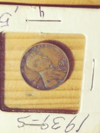 1939-S Lincoln Wheat Penny! 422