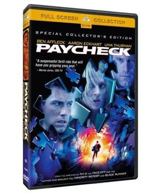 Paycheck dvd widescreen