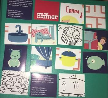 Random Lot of Stickers from Höffner Furniture in Germany - # 2