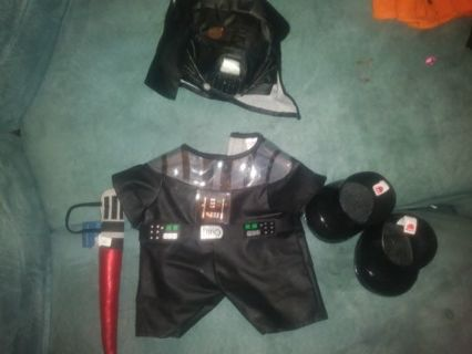 Build a bear Halloween costumes (win up to 2)