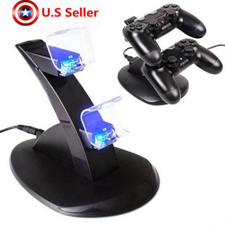 NEW!! Charging Charger Station Dock Stand For Sony PS4 or PS3 Controller: your choice - warranty!