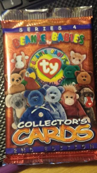 Beanie Babies Collector's Card