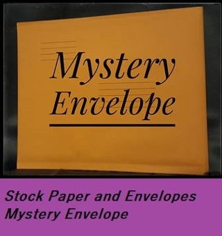 Mystery For You Envelope