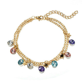 Fashion Lady Chain Bracelet Foot Anklet x1